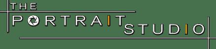 The Portrait Studio - white logo